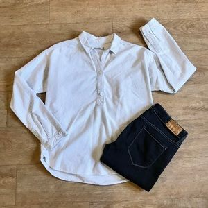 A&F • Halfway Button Down Blouse